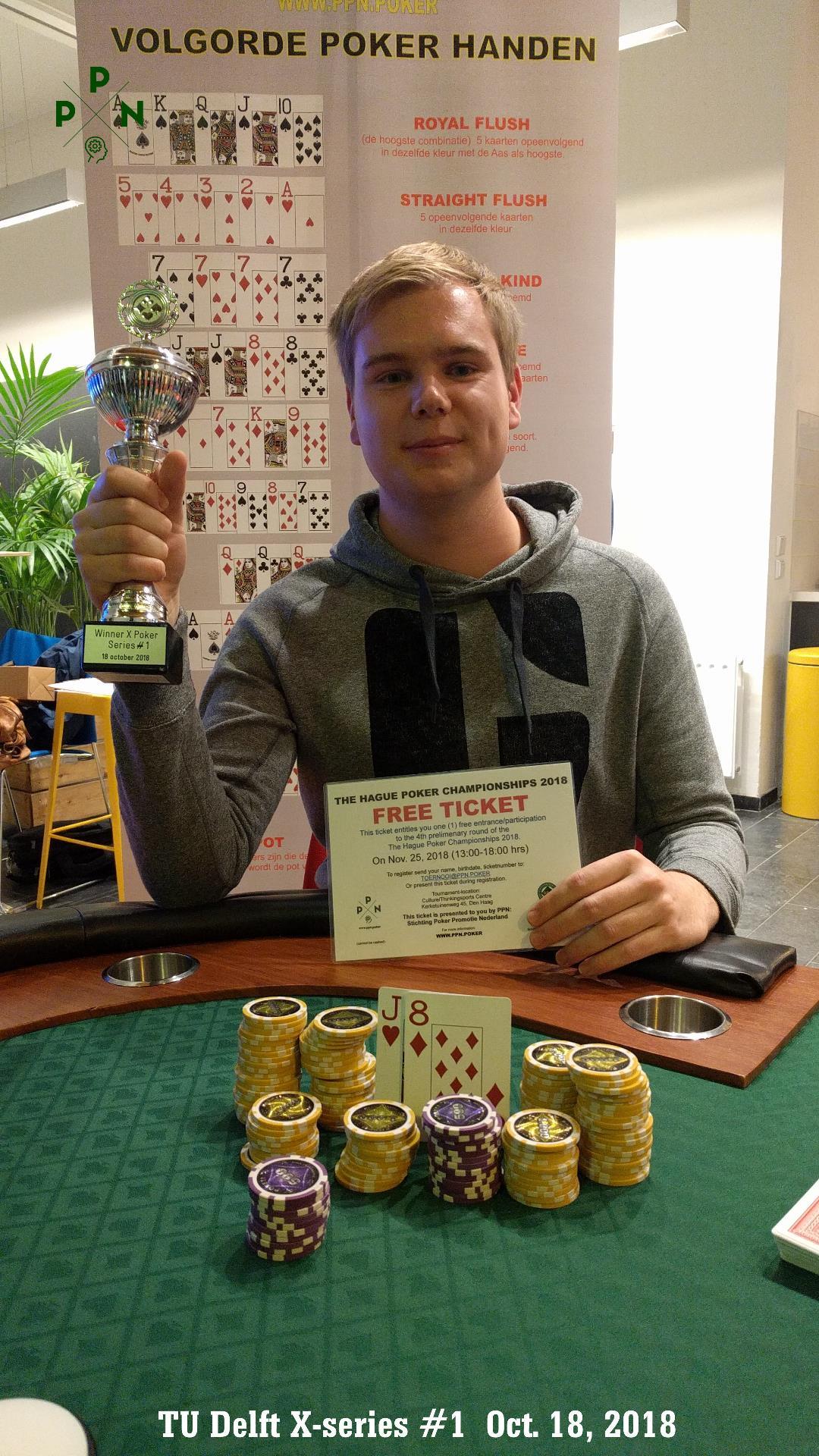 TU Delft X-Poker Series 1